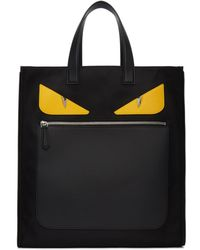 Fendi - Black Bag Bugs Tote - Lyst