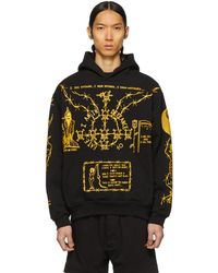 1ce2dd66371 Helmut Lang Logo Hoodie in Green for Men - Save 77% - Lyst