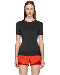 adidas By Stella McCartney - Black P Ess T-shirt - Lyst