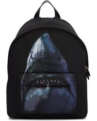 Givenchy - Black Shark Urban Backpack - Lyst