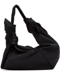 Simone Rocha - Black Little Double Bow Bag - Lyst