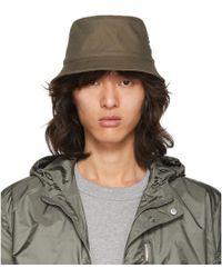 Acne Studios - Green Buk Bucket Hat - Lyst