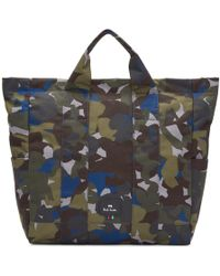 PS by Paul Smith - Multicolour Camouflage Tote - Lyst