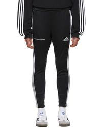 Gosha Rubchinskiy - Black Adidas Originals Edition Track Trousers - Lyst