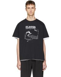 Second/Layer - Black Whispers In The Night T-shirt - Lyst