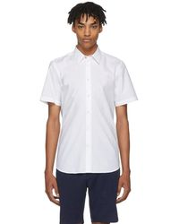 PS by Paul Smith - White Short Sleeve Tailored Shirt - Lyst