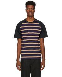 Comme des Garçons - Multicolor Horizontal Stripe T-shirt - Lyst