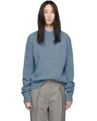 Tibi - Blue Alpaca Cozette Easy Sweater - Lyst