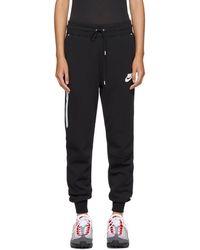 Nike - Black Sportswear Tech Fleece Lounge Pants - Lyst