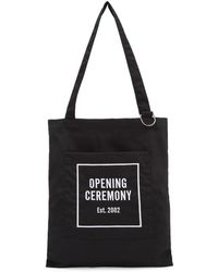 Opening Ceremony - Black Classic Logo Tote - Lyst