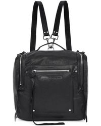 McQ - Black Convertible Loveless Box Backpack - Lyst