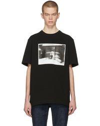 CALVIN KLEIN 205W39NYC - Black Electric Chair Pocket T-shirt - Lyst