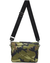Valentino - Green Garavani Camouart Messenger Bag - Lyst