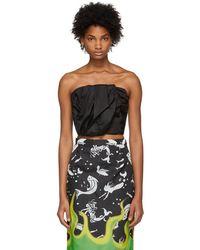 Prada - Black Look 3 Bustier - Lyst