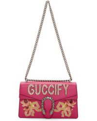Gucci - Pink Small Pearls Fy Dionysus Bag - Lyst