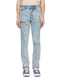 c73991b4 Ksubi X Travis Scott Black Flame Chitch Jeans in Black for Men - Lyst