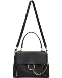 Chloé - Black Medium Faye Day Bag - Lyst