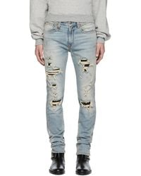 R13 - Blue Skate Jeans - Lyst