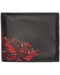Marcelo Burlon - Black And Red Wing Wallet - Lyst