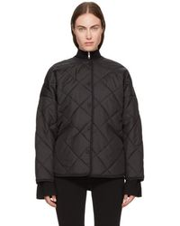 Totême  - Black Quilted Dublin Jacket - Lyst