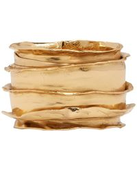 Emanuele Bicocchi - Gold Band Ring - Lyst