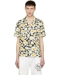Burberry - Black Short Sleeve Daisy Ska Jude Shirt - Lyst