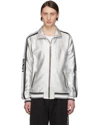 Dolce & Gabbana - Silver Track Jacket - Lyst