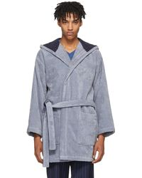 Fendi | Blue Bag Bugs Bath Robe | Lyst