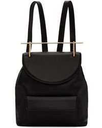 M2malletier - Black Leather Backpack - Lyst