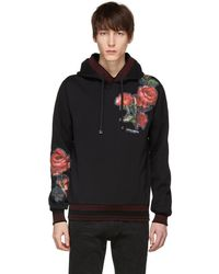 Dolce & Gabbana - Black Patches Hoodie - Lyst