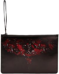 Marcelo Burlon - Black And Red Wing Pouch - Lyst