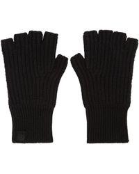 Rag & Bone - Black Cashmere Kaden Gloves - Lyst