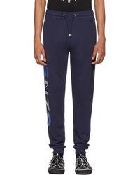 KENZO - Navy Sport Jog Lounge Pants - Lyst