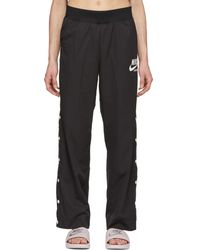 Nike - Black Snap-button Archive Lounge Pants - Lyst