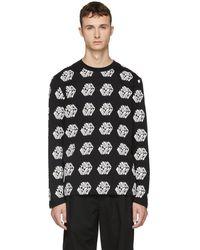 McQ - Black Long Sleeve Mcq Cube T-shirt - Lyst