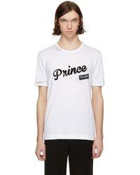 Dolce & Gabbana - White Prince T-shirt - Lyst