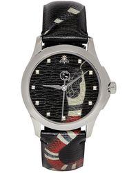 Gucci - Black G-timeless Le Marche Des Merveilles Watch - Lyst