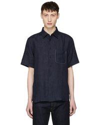 Rag & Bone - Blue Fit 3 Beach Shirt - Lyst