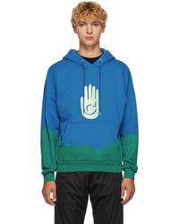 Cottweiler - Blue And Green Cave Hoodie - Lyst