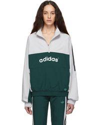 adidas Originals - Grey 92 Archive Track Jacket - Lyst