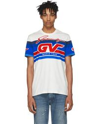 Givenchy - White Gv World Tour Jersey T-shirt - Lyst