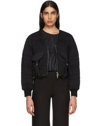 3.1 Phillip Lim - Black Quilted Utility Jacket - Lyst