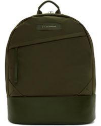 Want Les Essentiels De La Vie - Green Nylon Kastrup Backpack - Lyst