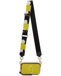 Marc Jacobs - Yellow Small Snapshot Bag - Lyst