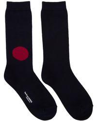 Blue Blue Japan - Navy Japan Flag Socks - Lyst