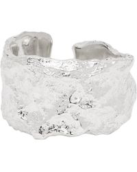 Pearls Before Swine - Silver Forged Spacer Textured Ring - Lyst