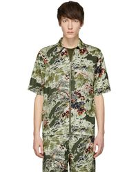 DIESEL   Khaki S-lyna Shirt   Lyst