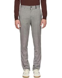 PS by Paul Smith - Black And White Pattern Trousers - Lyst