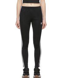 adidas Originals - Black Sst Track Trousers - Lyst