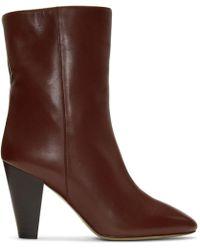 Isabel Marant - Burgundy Darilay Boots - Lyst